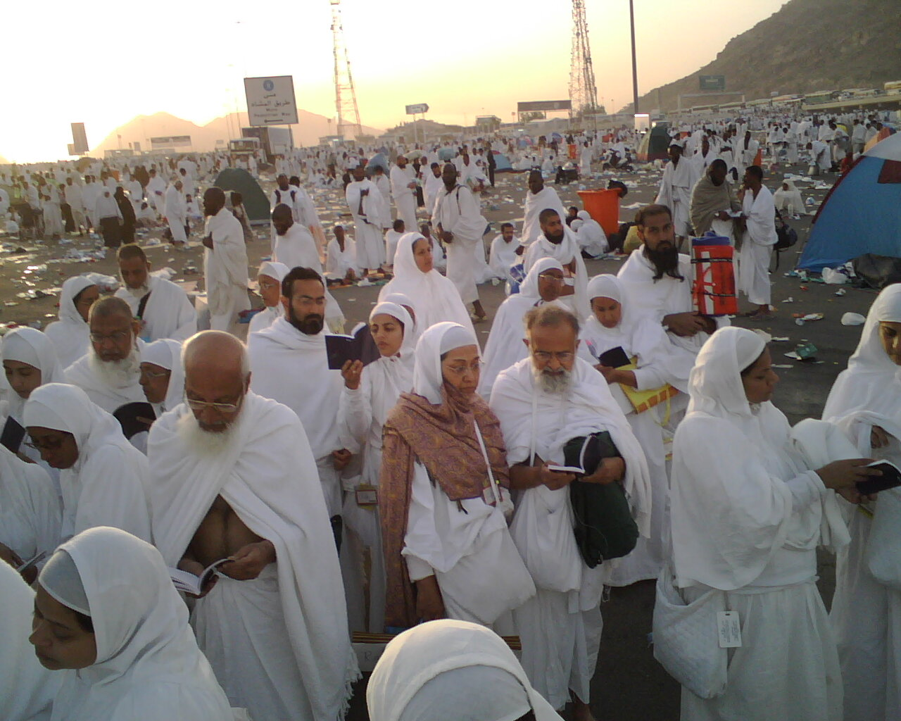 Photos from Hajj