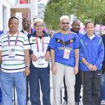 Ammaar bhai Ghadiyali at the Olympic Village